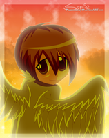Angel from the Sky by phantomcrazy89