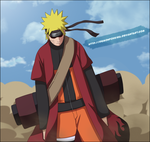 Sage Naruto Concentration by DemonFoxKira