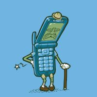 Old Man Flip-Phone by TheYoshinator