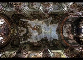 Beautiful Ceiling of St. Nicholas by erhansasmaz