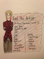 Meet The Artist (Revamp) by The-Insane-Puppeteer