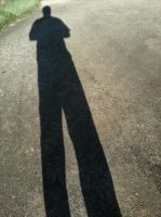 My shadow by BlakkReign