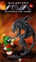 Martian VS Alien by MysticMorgan