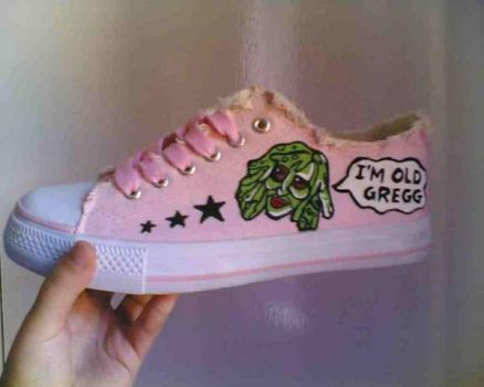 Old Gregg shoe... by kayleighb