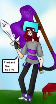 Minecraft bedwars!! by EnderGCarrot