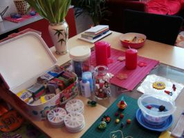 My Fimo-Place... 1 by Akascha