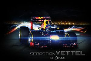 Sebastian Vettel by O-five