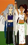 Fem Prussia and Fem India: Bollywood Style by PrussianRedKnight19
