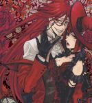 Facebook Photo Madame  Red and Grell by DanyLibre