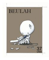Stamps - 09 Beulah. by princepoo