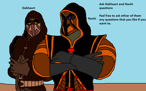 Ask Oakheart and Nochi questions by Natalia-Clark