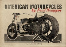 FRED KRUGGER MOTORCYCLES by sergiotoribio