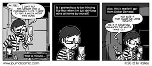 Journal Comic - Glass As Half Wrong by tyhalley