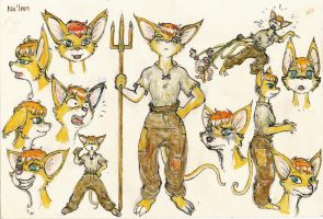 Na'leen Concept Sketches 2008 by SpaceBoy969