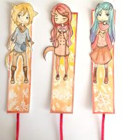Autumn Bookmarks by fistachomaniac