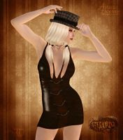 Sultry Steampunk by RavenMoonDesigns
