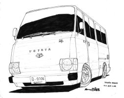 Old Hiace by ngarage