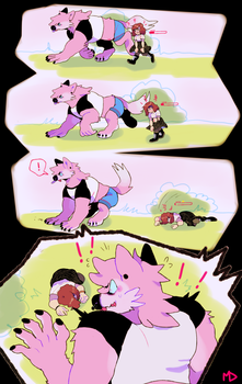 OH NO!!!! that vampire needs some BLOOD!! (pt1/?) by megadinkloid