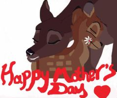 Mother's Day Pic for Mom by FaPingMulan