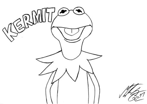 Kermit the Frog by MortenEng21