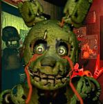 Springtrap Scare by dragonblade122