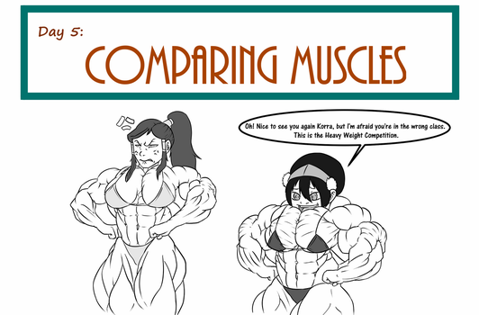 30 Days muscle challenge - In the wrong class by astaroth90
