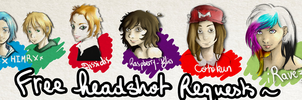 Free Requested Headshots. by Kukla-Factory