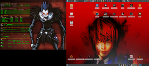 Halloween Desktop 2014 - Arch Linux and Xfce by hamishpaulwilson