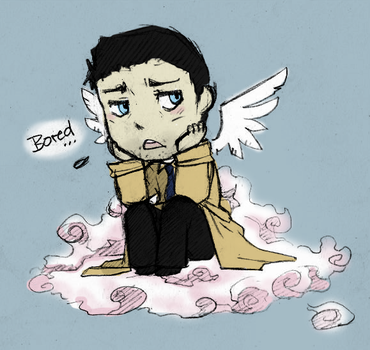 Bored Cas by LazyBasy