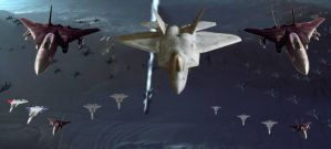 Ace Combat: Independence day, Final Battle Begins. by LooneyAces