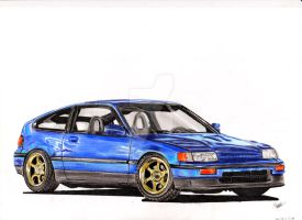 Honda CRX by CKDMotorsport