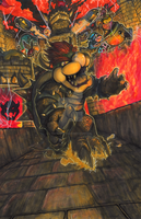 Smash Series: Bowser, King of the Koopa's! by Pixelated-Takkun