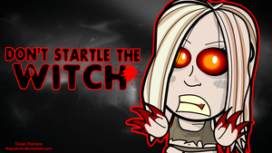 Chibi Witch - Left4Dead Wallpaper by kapaeme