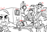 Draw the Squad Meme (Dragon Queen) by InkRose98