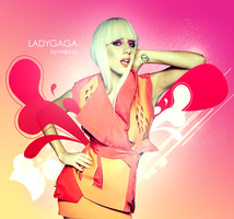 Lady Gaga - Abstract by msLana