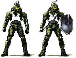 Halo - 'Spartan' Armor Variant by Randy-355