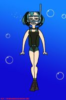 TD's Gwen: Scuba Diving by VoyagerHawk87
