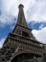 Eiffel Tower.....Vegas by fucknsk8rchick