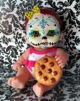 Day of the dead dollie Lila by lillmizstrange