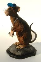 Banksy Ghetto Rat by thebiscuitboy