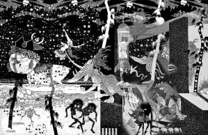 Sidney Sime Collage by ColinMartinPWherman