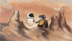 WALL-E Fanart by K-van