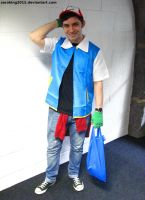 Ash Ketchum from Pokemon by ZeroKing2015