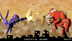 Debate 2056 by custom3dgraphics