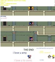 sonic and amy comic final part by freddysp