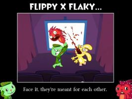 Flippy x Flaky by PurpleLightning12