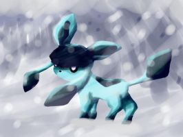 Glaceon by SparkusThunderbolt
