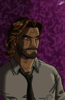 Bigby Not Amused  by Inv4derB00