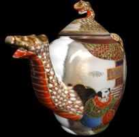 Dragon Teapot by ChozoBoy