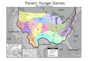Hunger Games - Districts by Spaloona